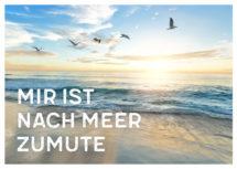 Meeres-Postkarte / Mir ist nach Meer zumute (Art.-Nr.: PK-MAR-01-004)
