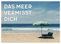 Meeres-Postkarte / Das Meer vermisst Dich (Art.-Nr.: PK-MAR-01-005)