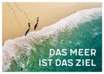 Meeres-Postkarte / Das Meer ist das Ziel (Art.-Nr.: PK-MAR-01-009)
