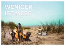 Meeres-Postkarte / Wer Meer hat, braucht weniger (Art.-Nr.: PK-MAR-01-015)