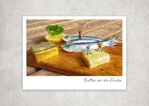 Miniaturfotografie - Kleine Freiheit / Butter bei die Fische (Art.-Nr.: PK-MIN-01-010)