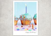 Miniaturfotografie - Kleine Freiheit / Happy Birthday (Art.-Nr.: PK-MIN-01-015)