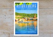 Heidelberg #3, Neckarblick & Altstadt (Art.-Nr.: PK-HD-01-003)