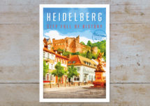 Heidelberg #4, Kornmarkt (Art.-Nr.: PK-HD-01-004)
